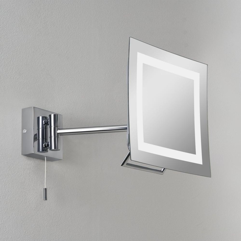 Astro Sku34453i4l Vanity Single Arm Ring Light Mirror Niro