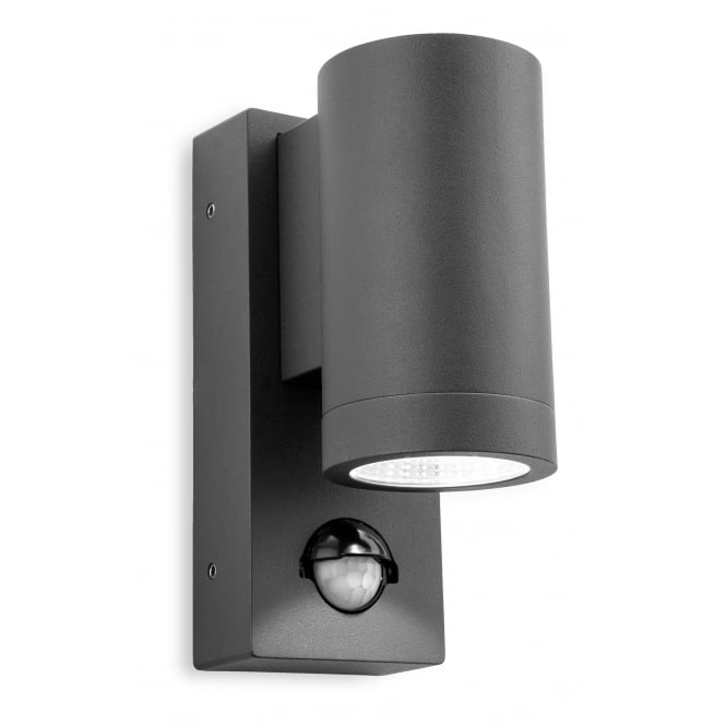 Firstlight 5939gp Shelby Single Led Wall With Pir