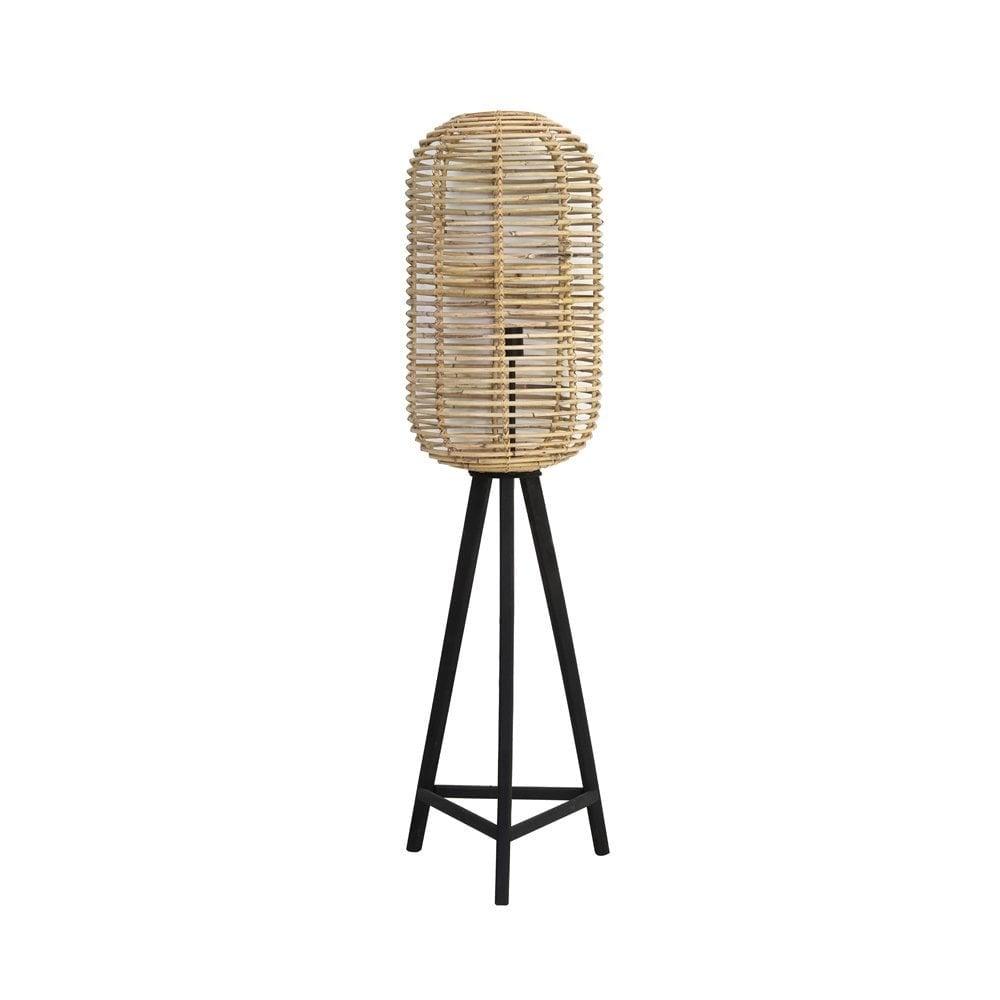 Light & Living Floor Lamp Ø36X140 Cm Tabana Rattan Natural
