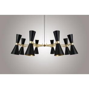 Traditional chandelier NAGANO: MLF237 Mullan Lighting