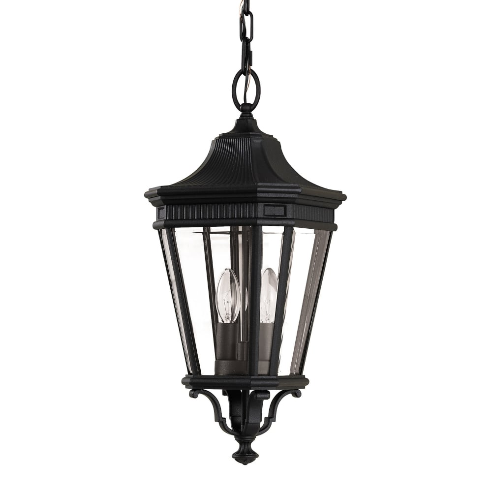 Cotswold Lane Medium Chain Lantern Ideas4lighting